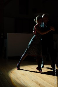 Tango scene, In Wino Veritas, with Guillermo Garcia